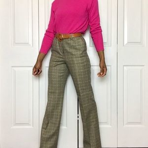 Brooks Brothers Retro Houndstooth Wool Pants